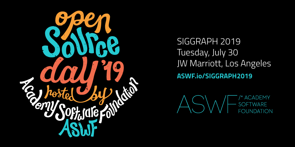 Open source day '19 hosted by the ASWF